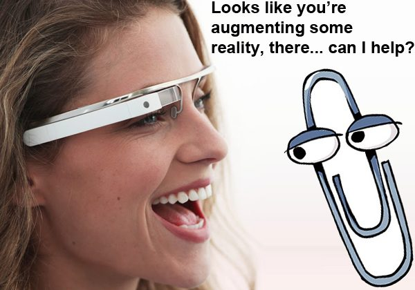 Google Project Glass: Siri or Clippy?