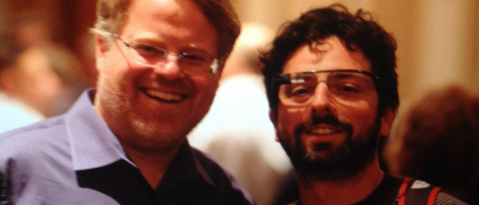 Google's Sergey Brin caught wearing Project Glass