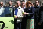New York City 'livery cabs' turn green