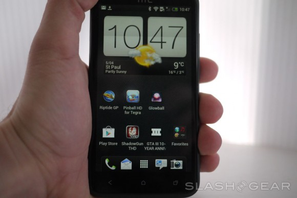 HTC One X Hands-on with Tegra 3 Gaming - SlashGear