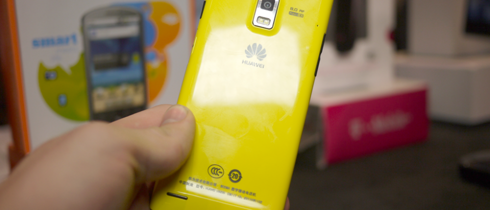 Huawei Ascend P1 super-slim Android arrives from May