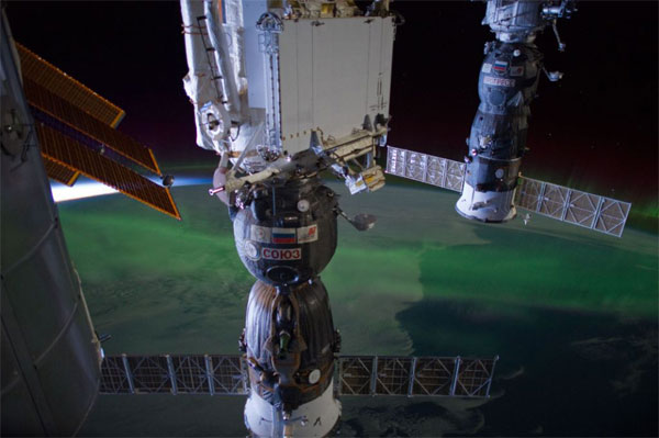 ISS astronauts snap millionth photo