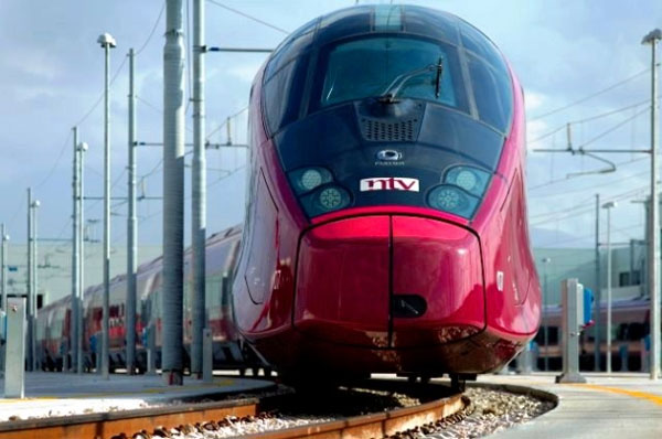 Italy gets a new Ferrari red high-speed train