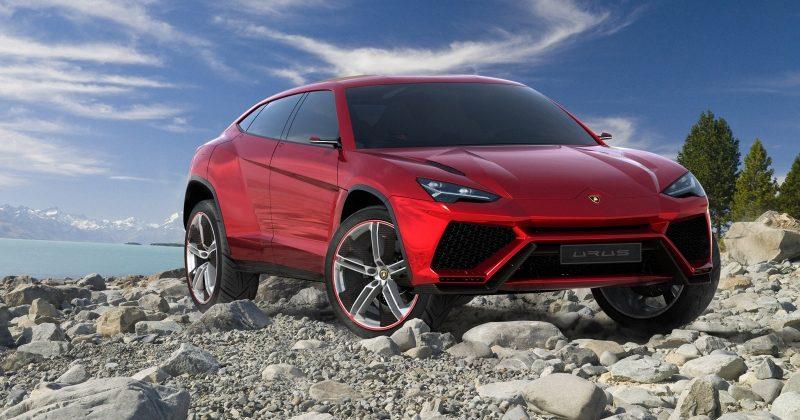 Lamborghini Urus SUV leaks