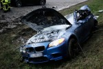 BMW M5 crashes at 186 mph and no one dies