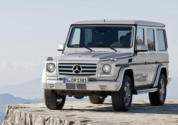 Mercedes-Benz unveils 2013 G-class off roader