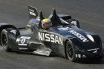Nissan DeltaWing gets wet and wild