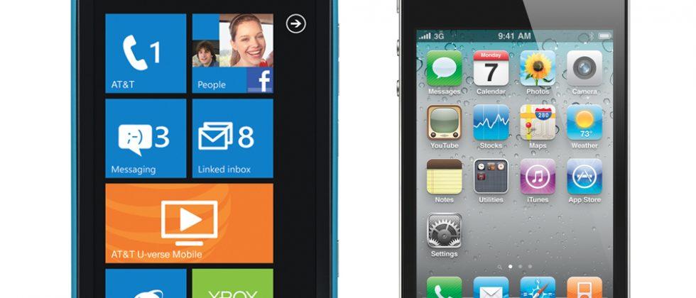 Nokia Lumia 900 vs iPhone 4: The $99 Showdown