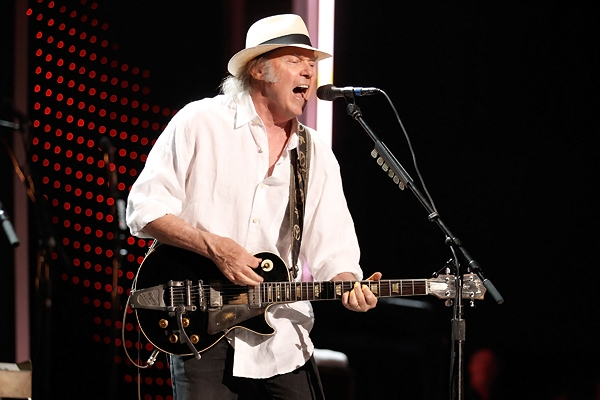 Neil Young files audio related trademarks