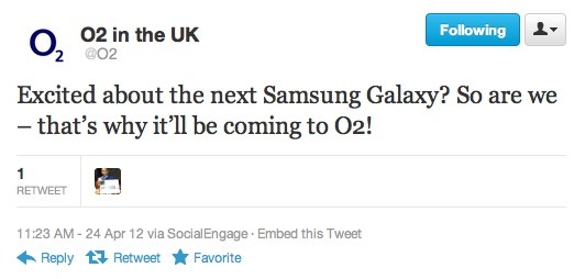 Galaxy S III carrier enthusiasm grows as O2 jumps onboard