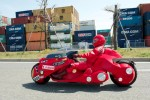 'Akira' bike taking a road trip across Japan