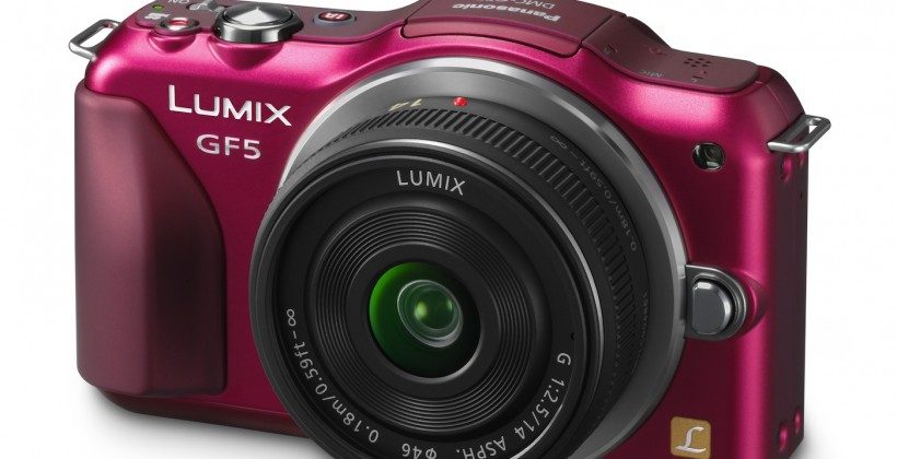 Panasonic LUMIX GF5 official