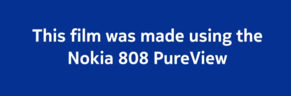 Nokia 808 ad lets PureView speak for itself