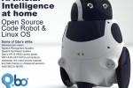 Qbo robot up for pre-order on April 18th