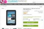 Galaxy Tab 2 (7.0) briefly listed for $309 on QVC
