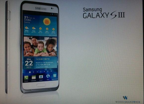 Samsung quashes 3D rumors for Galaxy S III