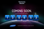 Samsung Mobile countdown site points to tomorrow reveal, hints at Retina?
