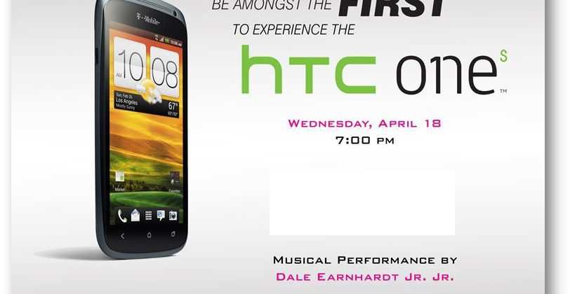 T-Mobile USA holding HTC One S preview on April 18
