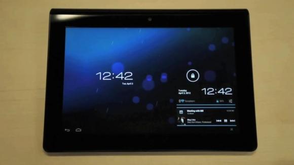 Sony Tablet S receiving Ice Cream Sandwich update
