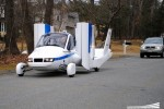 Terrafugia's flying car prototype makes first flight