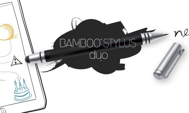 Wacom Bamboo Stylus duo adds ink to iPad, Android tablets and paper