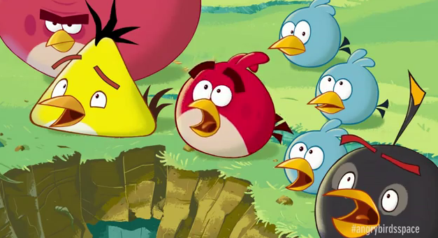Angry Birds Space now hottest mobile game in history