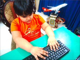 Six-year-old boy may set world computer expert record