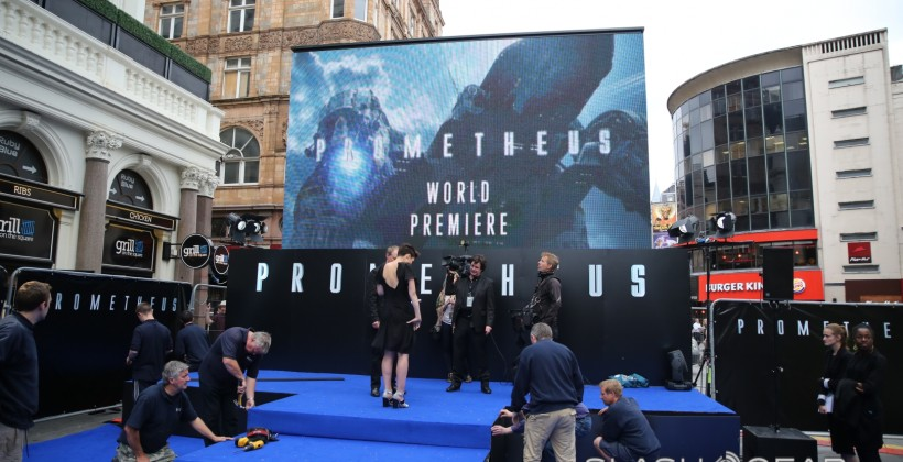 Prometheus Movie Review and Red Carpet Coverage