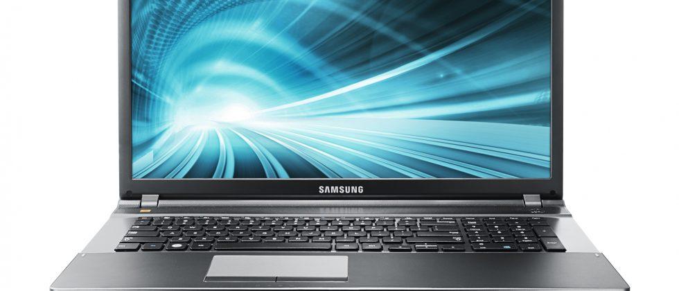 Samsung unveils media-focused Ivy Bridge laptops