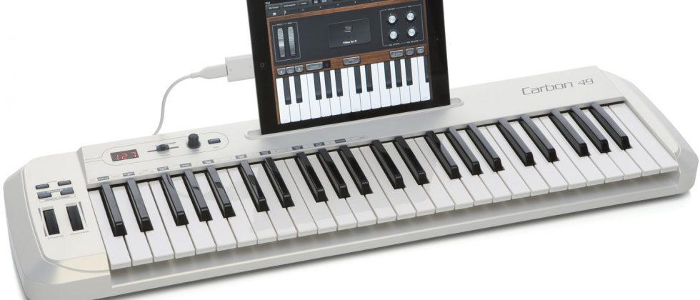 Samson Carbon 49 iPad keyboard targets mobile musicians