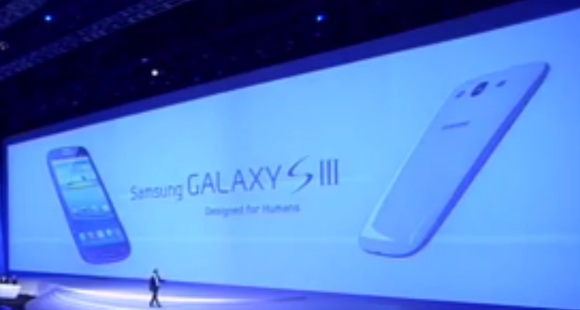 Samsung Galaxy S III launch event video now online