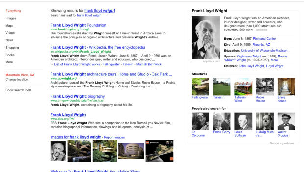 Google overhauls search with new knowledge graph
