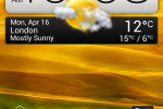 HTC Desire C Home Screen