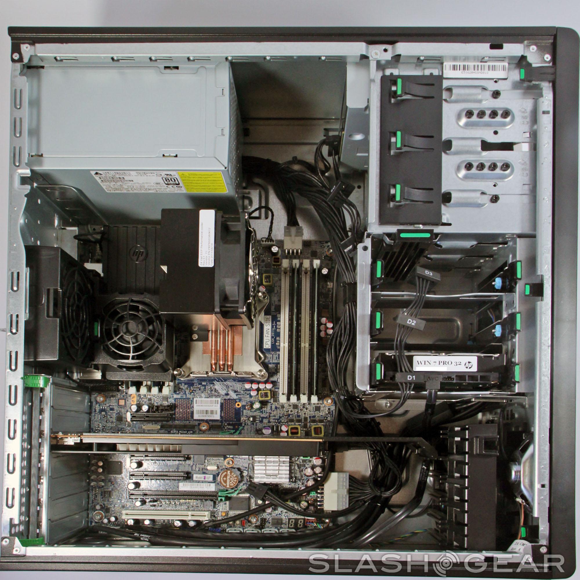 HP Z420 Workstation review - SlashGear