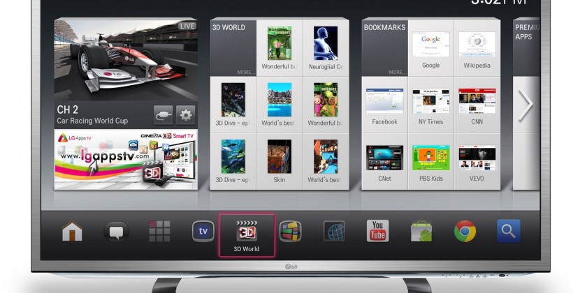 LG Google TVs arrive late May