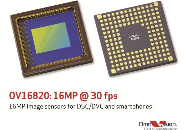 OmniVision unveils 16MP sensor with 4K video