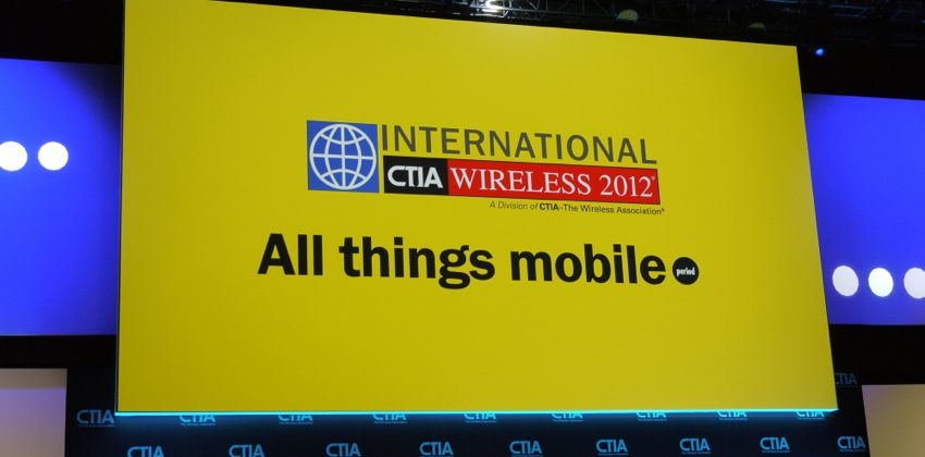 CTIA 2012 Keynote Day 2 with Spotify, Firefox, VISA, and EA: We're here!