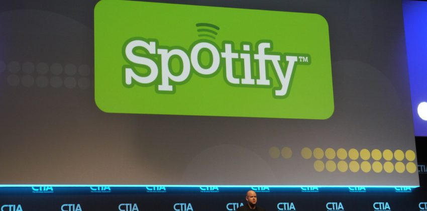 "Spotify co-founder touts ""platform"" initiatives at CTIA 2012"