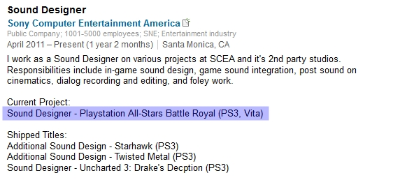 PlayStation All-Stars Battle Royale coming to PS Vita next