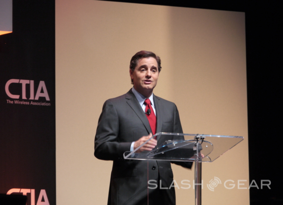 FCC CEO spectrum keynote comes from an iPad