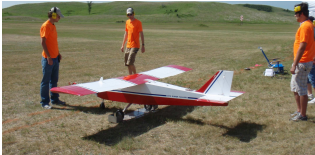 Cheap onboard tracking system tested on UAV