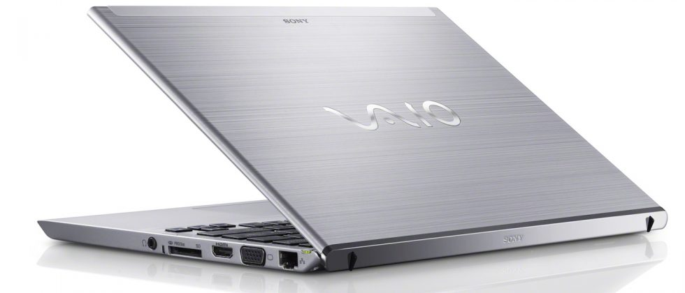 Sony VAIO T11 and T13 ultrabooks official