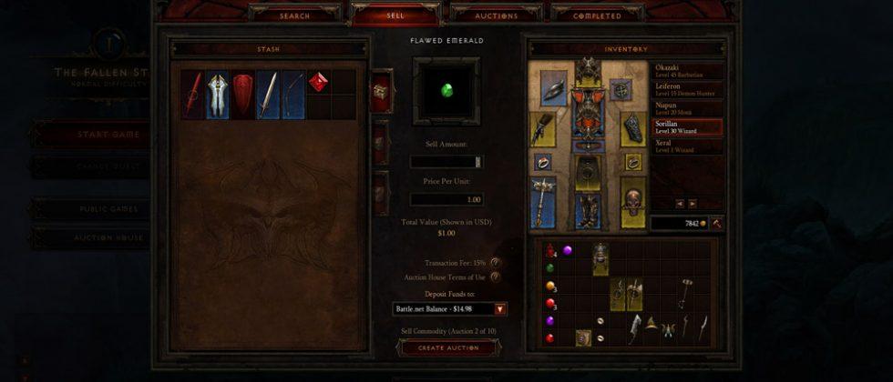 Diablo III real-money market detailed in full