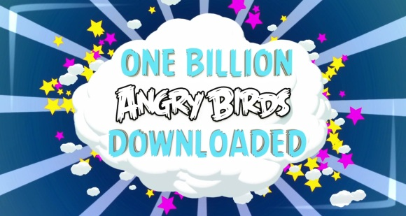 Angry Birds reaches one billion downloads