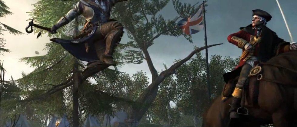 Assassin S Creed Iii Gameplay Trailer Released Slashgear