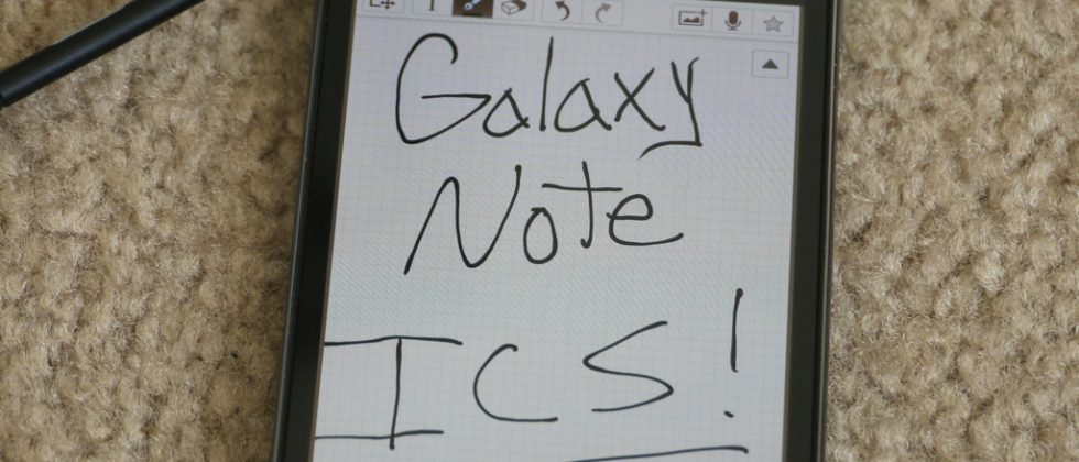 AT&T Galaxy Note gets more stable Android 4.0 leak