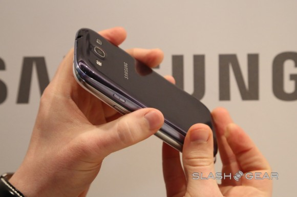 Samsung Galaxy S III Pebble Blue misses launch in UK