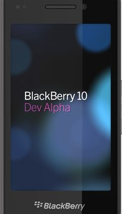 RIM unveils BlackBerry 10 Dev Alpha device