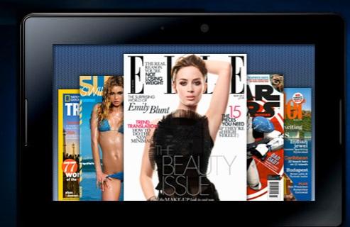 PixelMags demos BlackBerry 10 magazine app