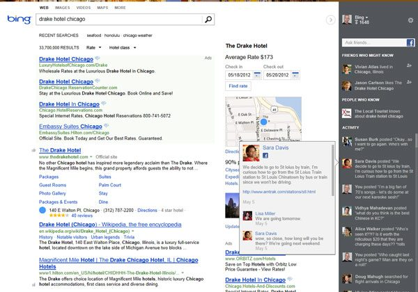 Bing reborn: New UI, Facebook and Google+ integration, more